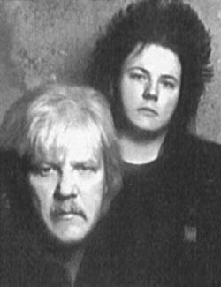 Эдгар Фрезе с сыном Джеромом, 1992 год